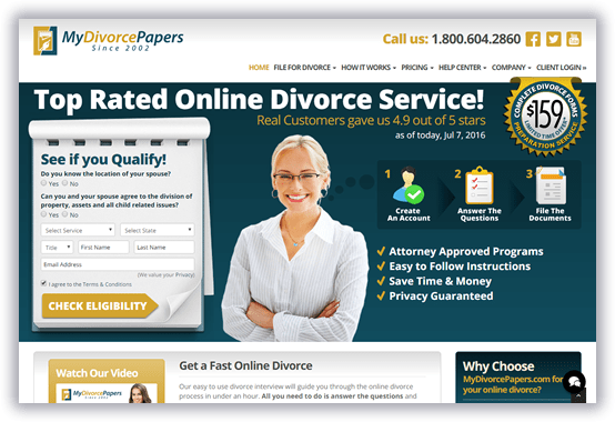MyDivorcePapers screenshot